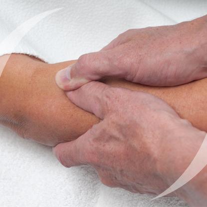 Shiatsu massage weldaad voor lichaam